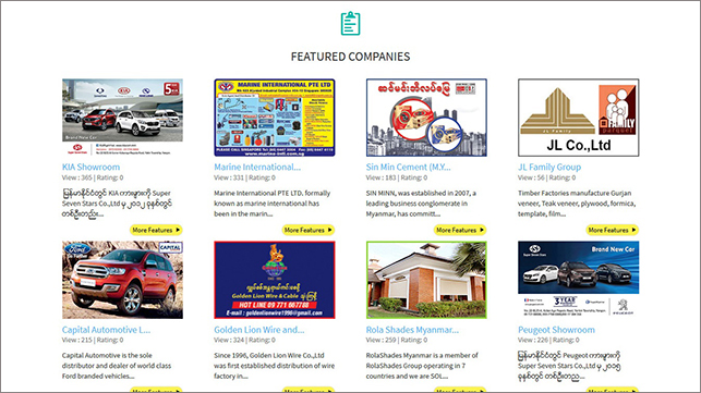 IMEX (Myanmar) | Myanmar Yellow Pages | Our Newly Designed